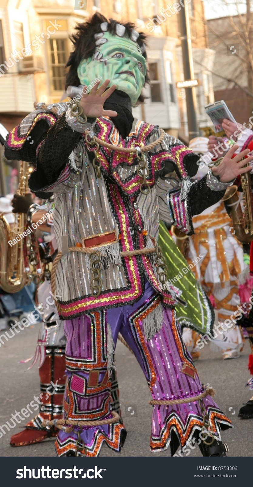 Philadelphia New Years Day Mummers Parade 2008 Stock Photo ...