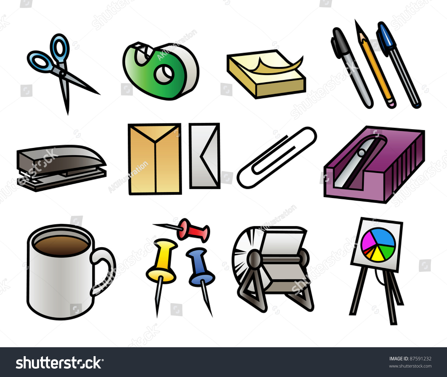 free office equipment clipart - photo #28
