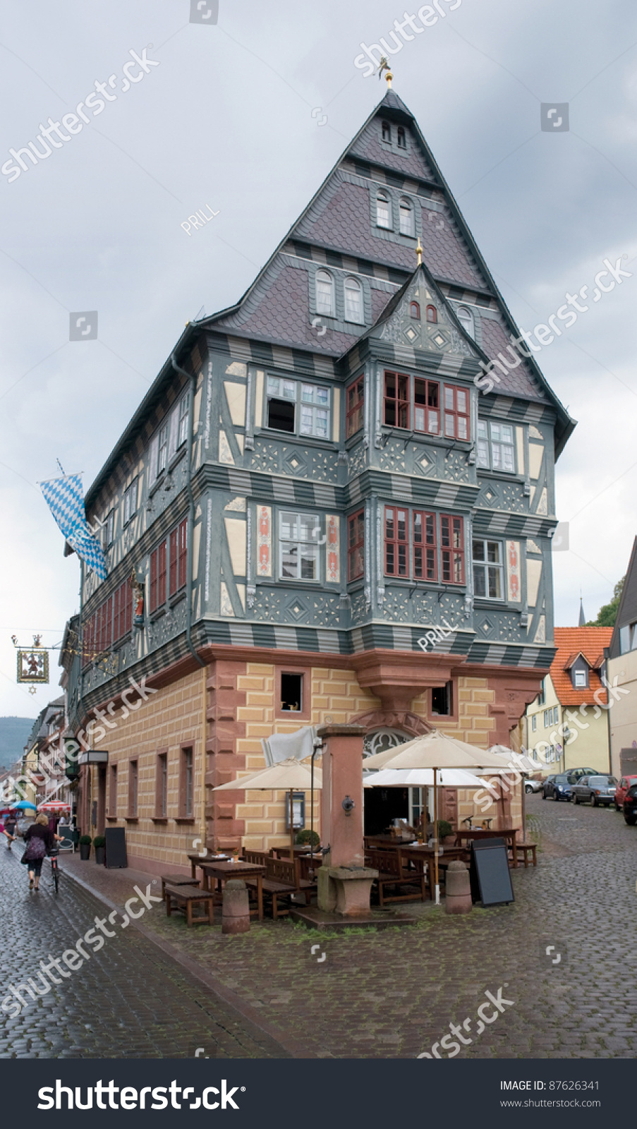 House miltenberg small town southern germanyitu00b4s stock for Small houses in germany