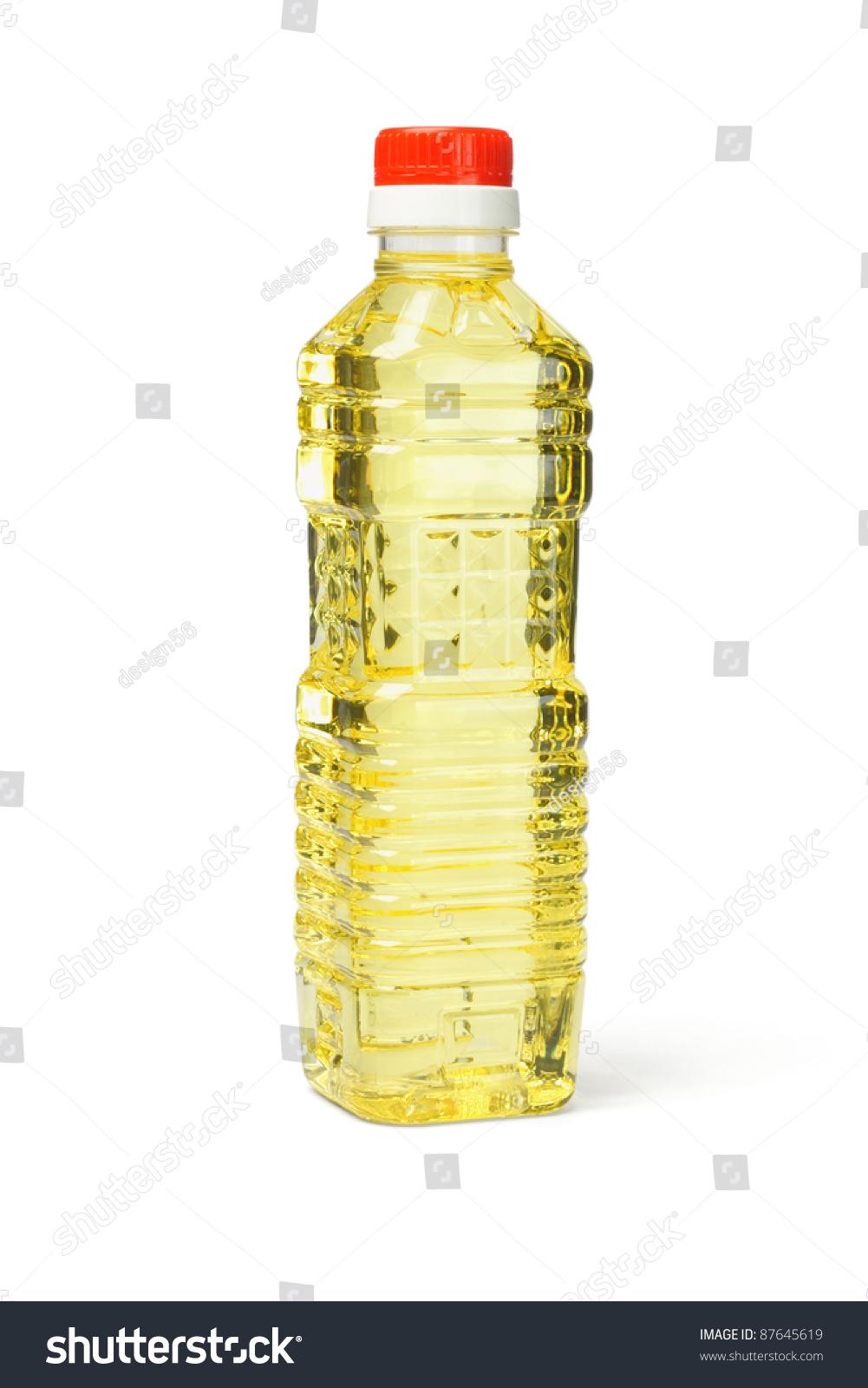 Plastic Bottle Of Vege...