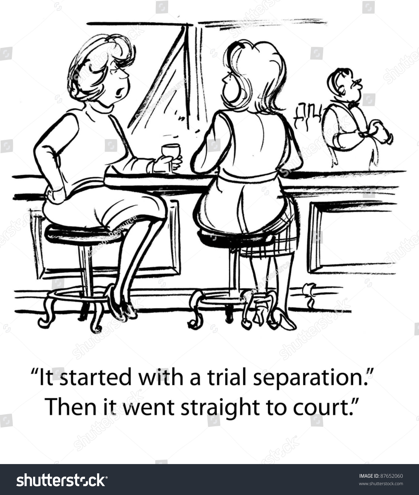 Trial seperation
