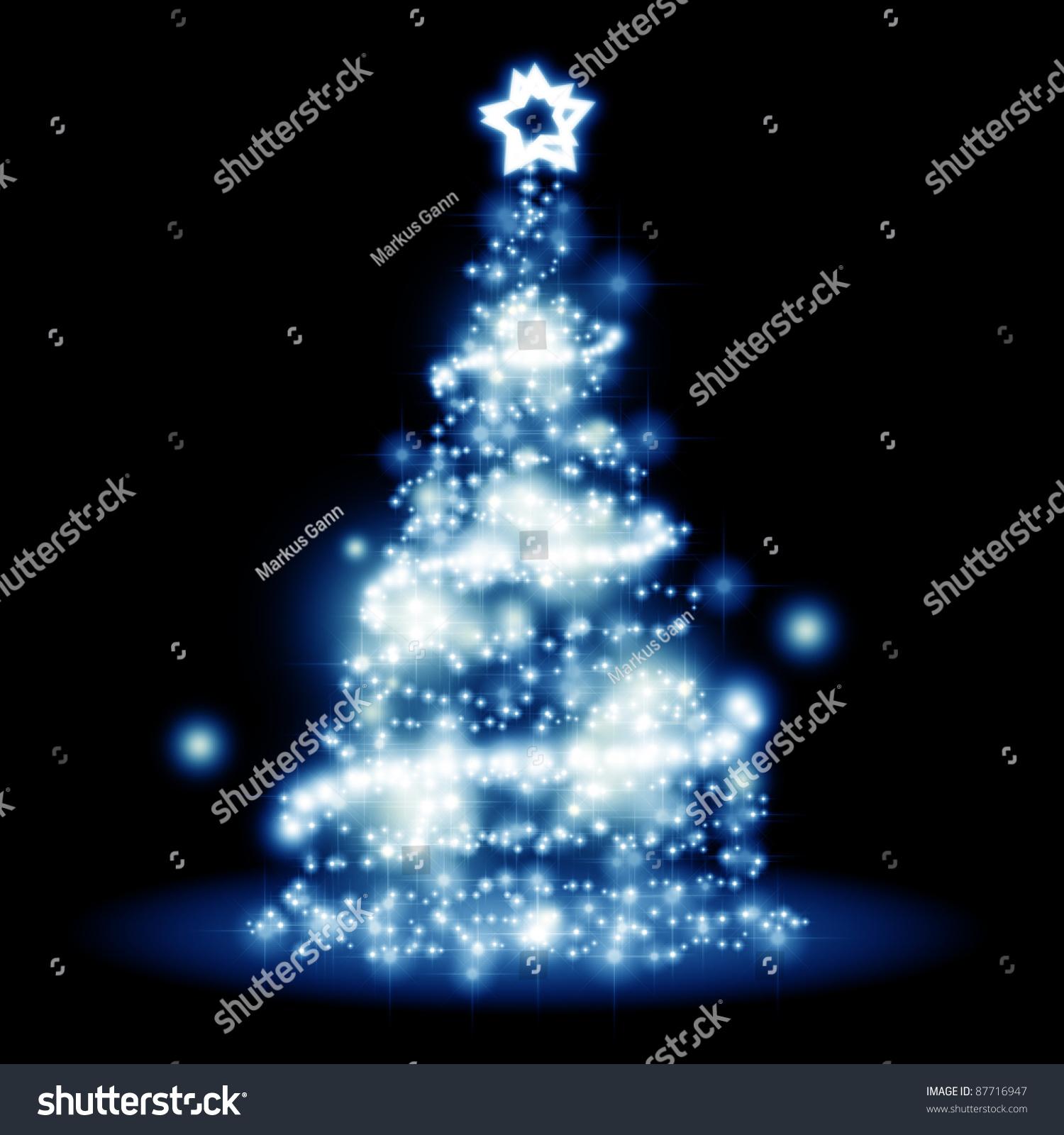 Nice Christmas Tree image nice christmas tree lights background stock illustration