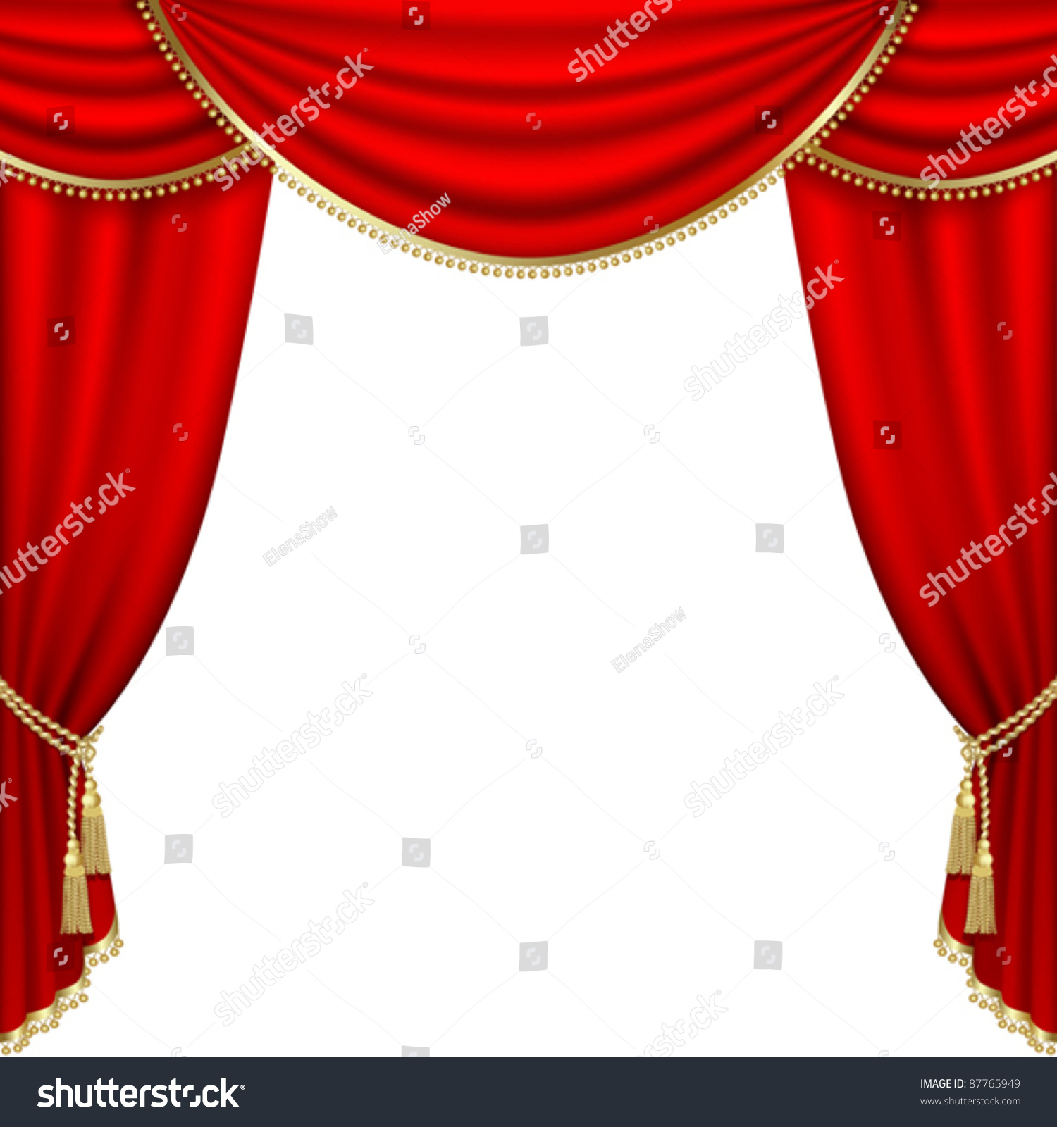 Opening and closing red curtain stock animation royalty free stock - Red Stage Curtains Royalty Free Stock Images Image 4759529 Real Theater Curtains Theater Stage With