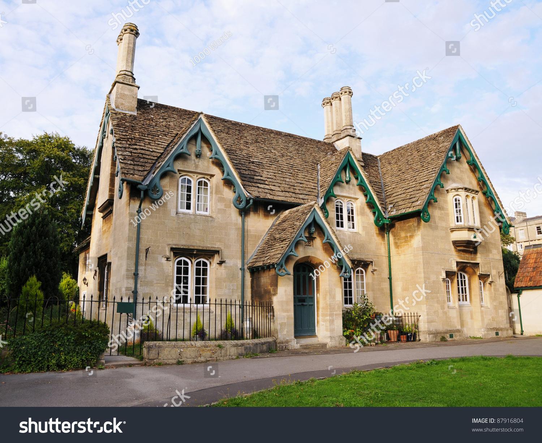 victorian era english cottage stock photo 87916804 shutterstock