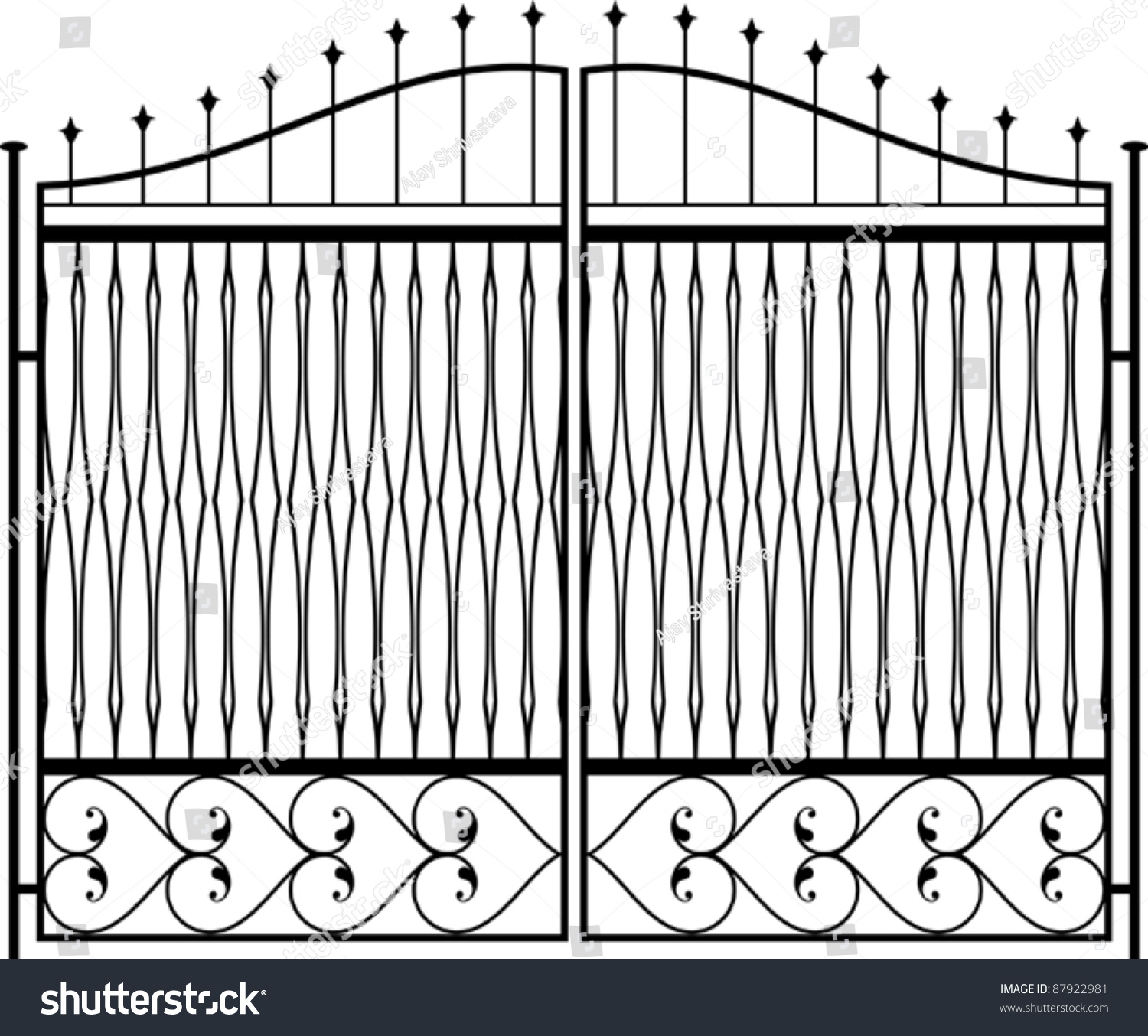 Door gate the opening lets your cat pass through for Window gate design