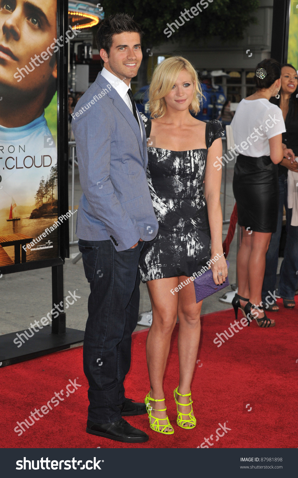 Brittany Snow & Boyfriend At The World Premiere Of ...