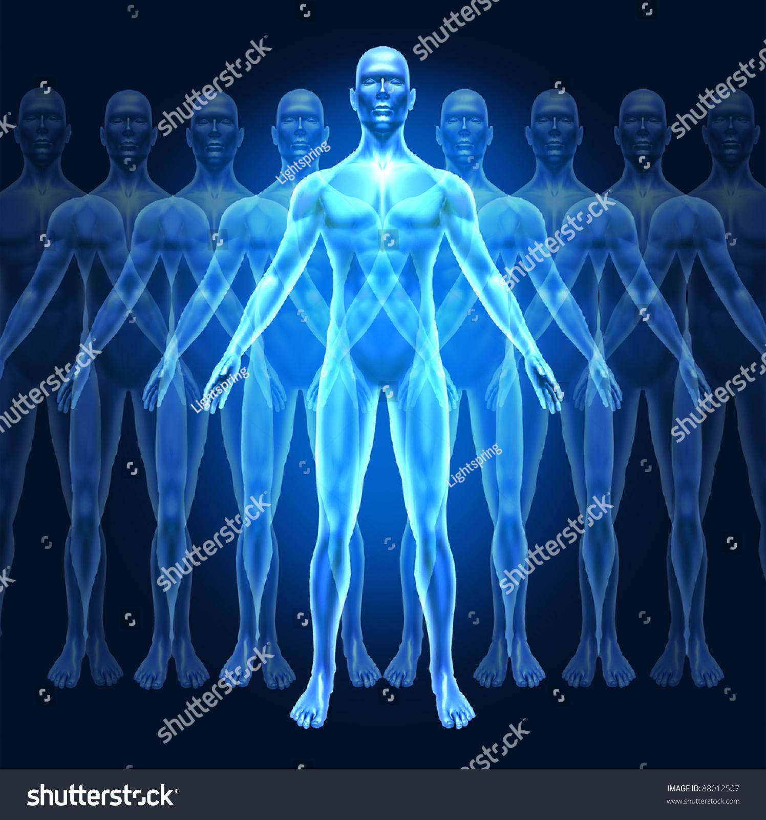 human growth development leadership symbol represented stock, Muscles