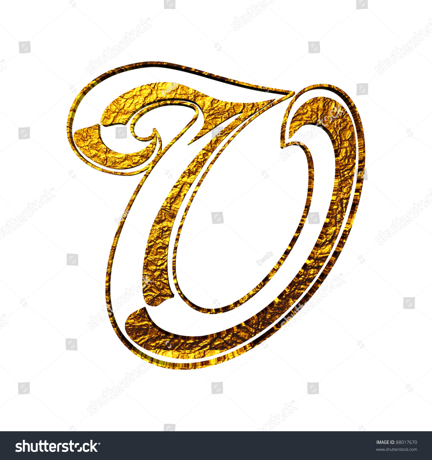Vintage initial gold alphabet symbol o stock illustration 88017670 vintage initial gold alphabet symbol o isolated on white biocorpaavc
