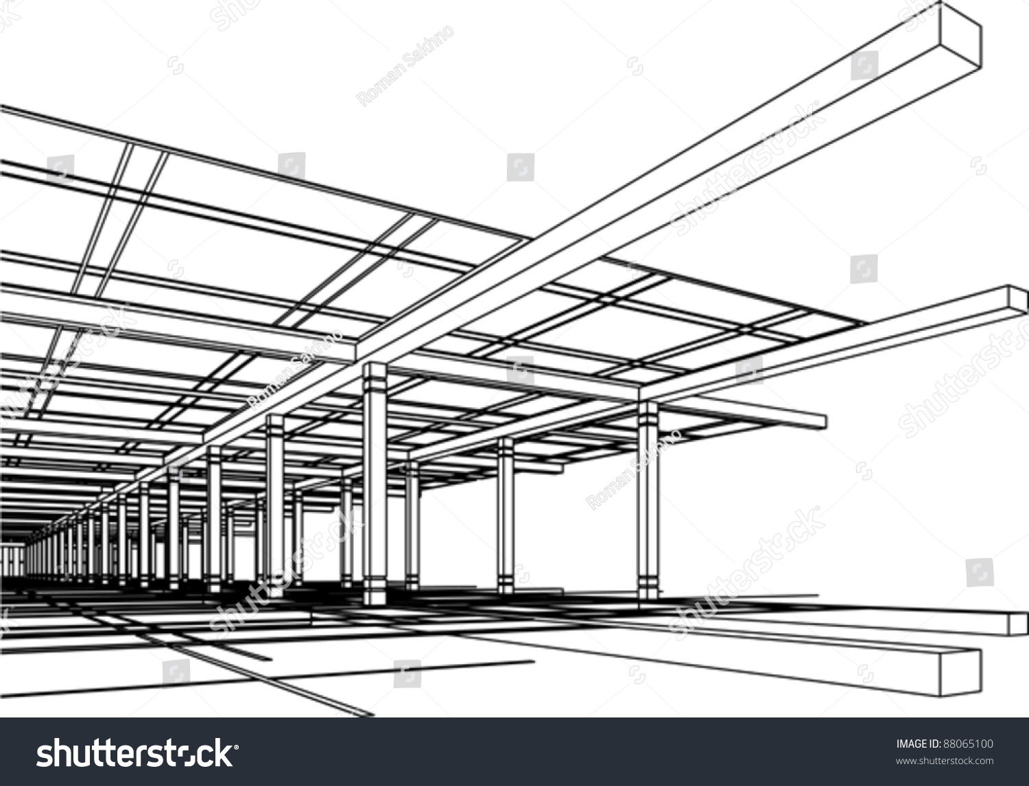 3d abstract architectural design - photo #28