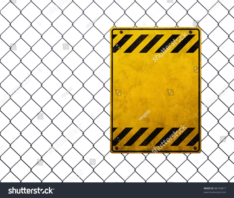 broken fence warning announcement - photo #7