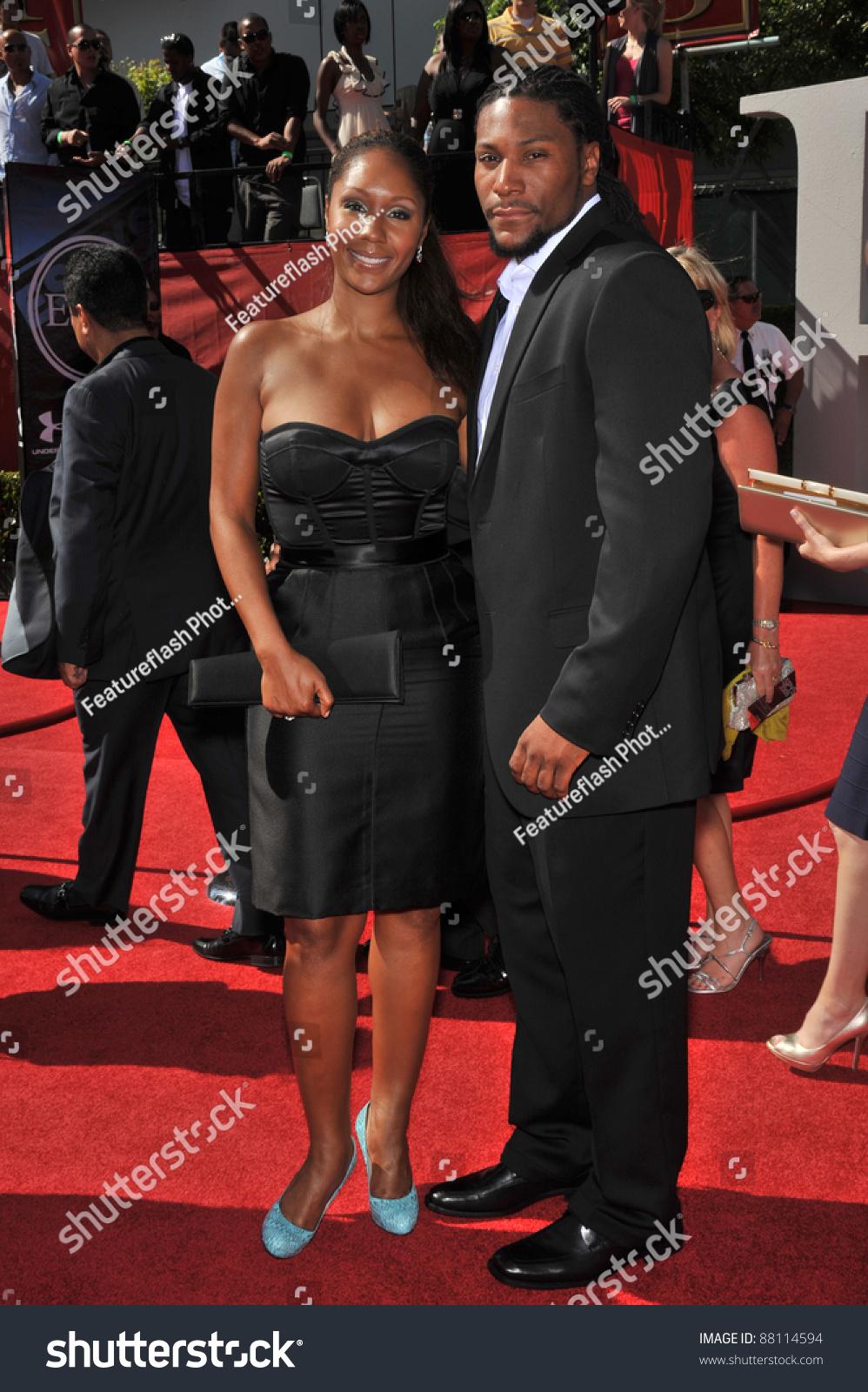 Aisha morris daughter of stevie wonder at the 2009 espy awards at