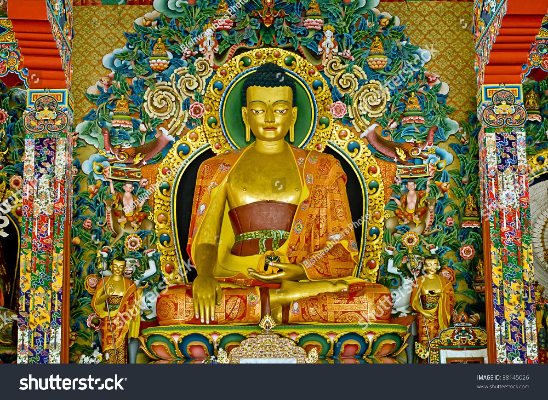 beautiful buddha statue stock photo 88145026 shutterstock
