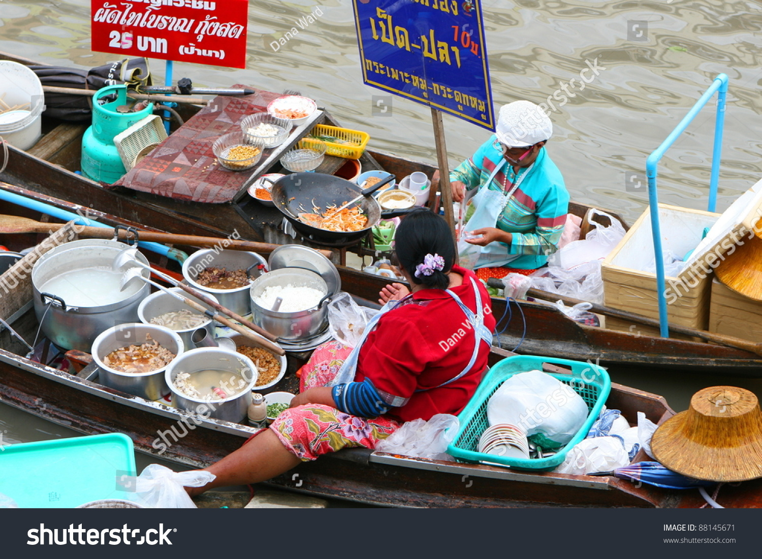 how to sell food in akoonah market