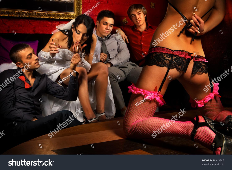 Erotic party photo