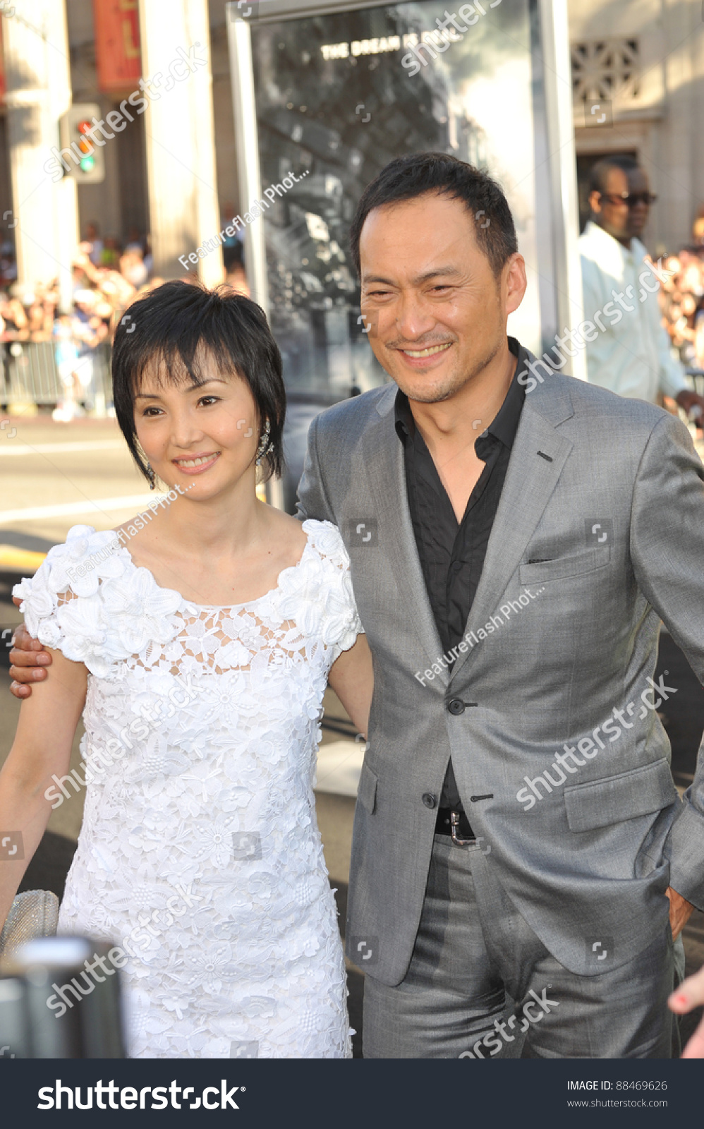 Ken Watanabe & Wife Kaho Minami - 595.7KB