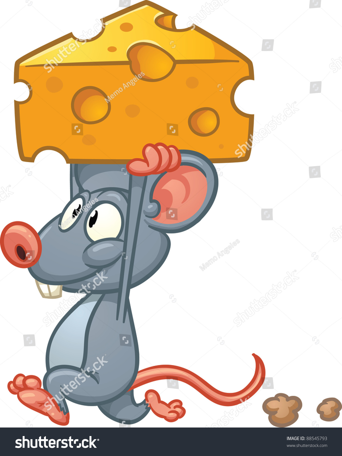 small gray mouse clip art