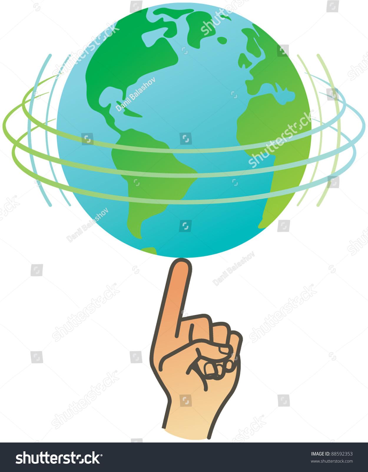 spinning globe clip art animation - photo #43