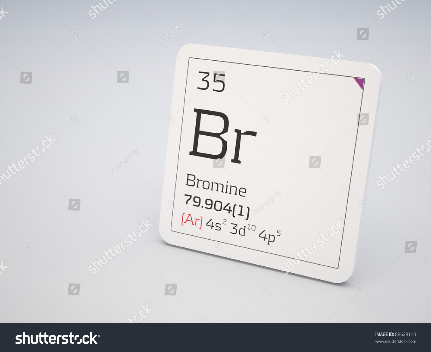 Bromine element periodic table stock illustration 88628140 bromine element of the periodic table gamestrikefo Choice Image