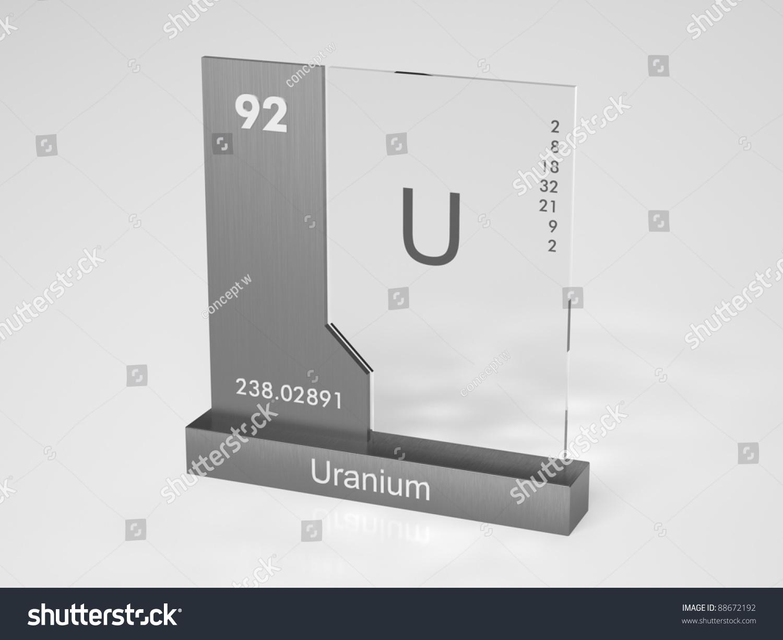 Uranium symbol u chemical element periodic stock illustration uranium symbol u chemical element of the periodic table gamestrikefo Choice Image