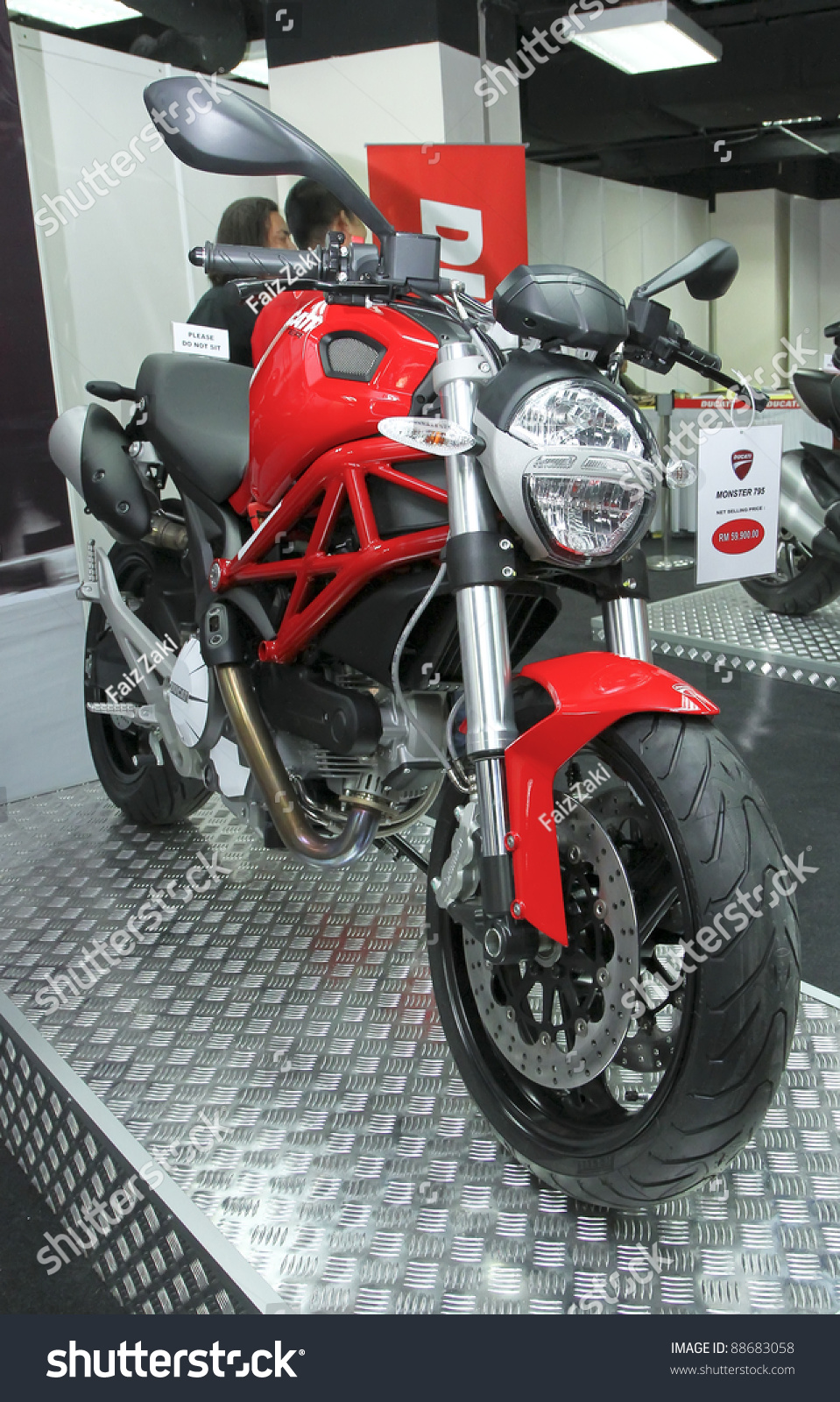 Kuala Lumpur Nov 12 Ducati Monster Stock Photo Edit Now 88683058