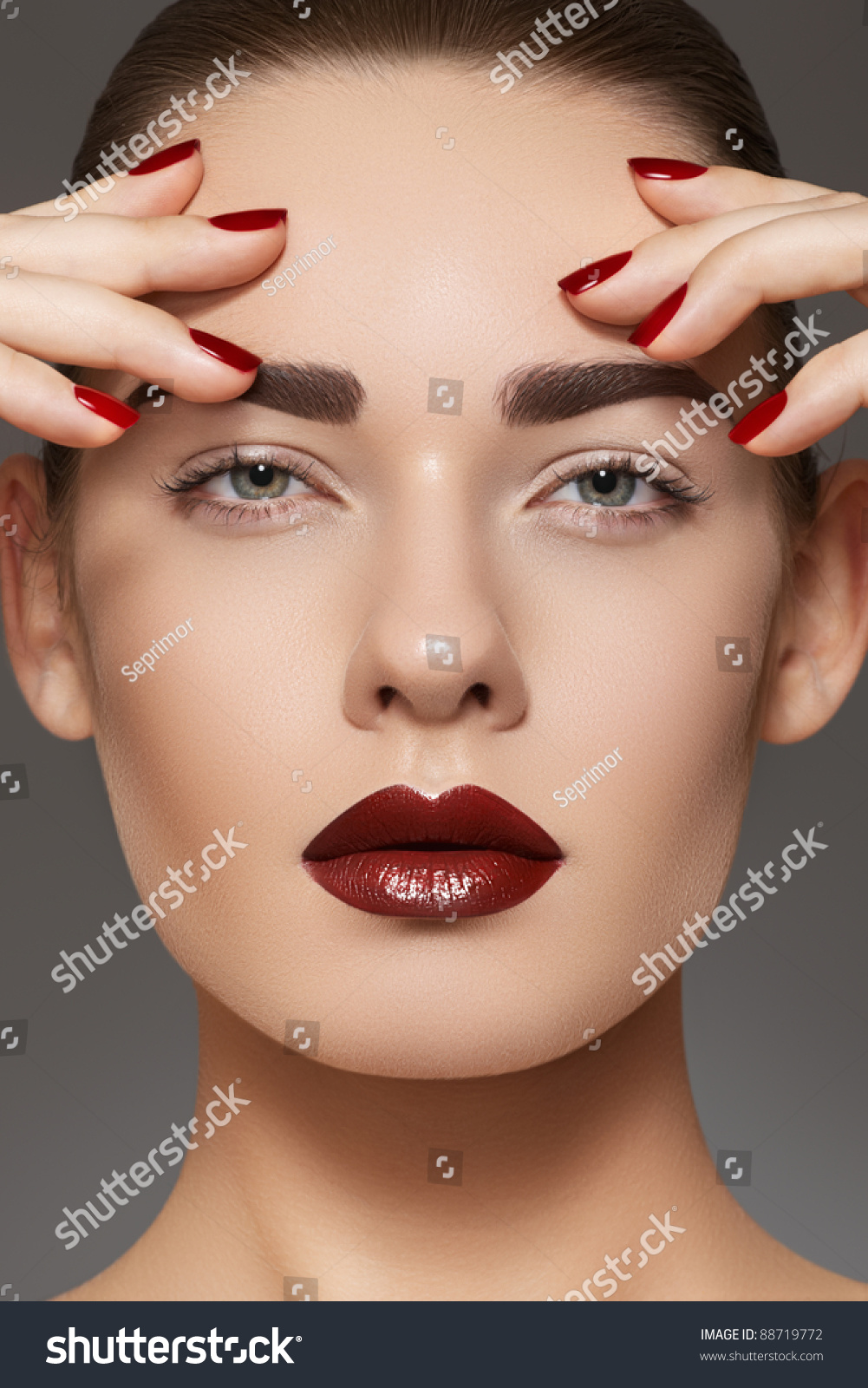 Luxury Fashion Style Manicure Cosmetics And Make Up