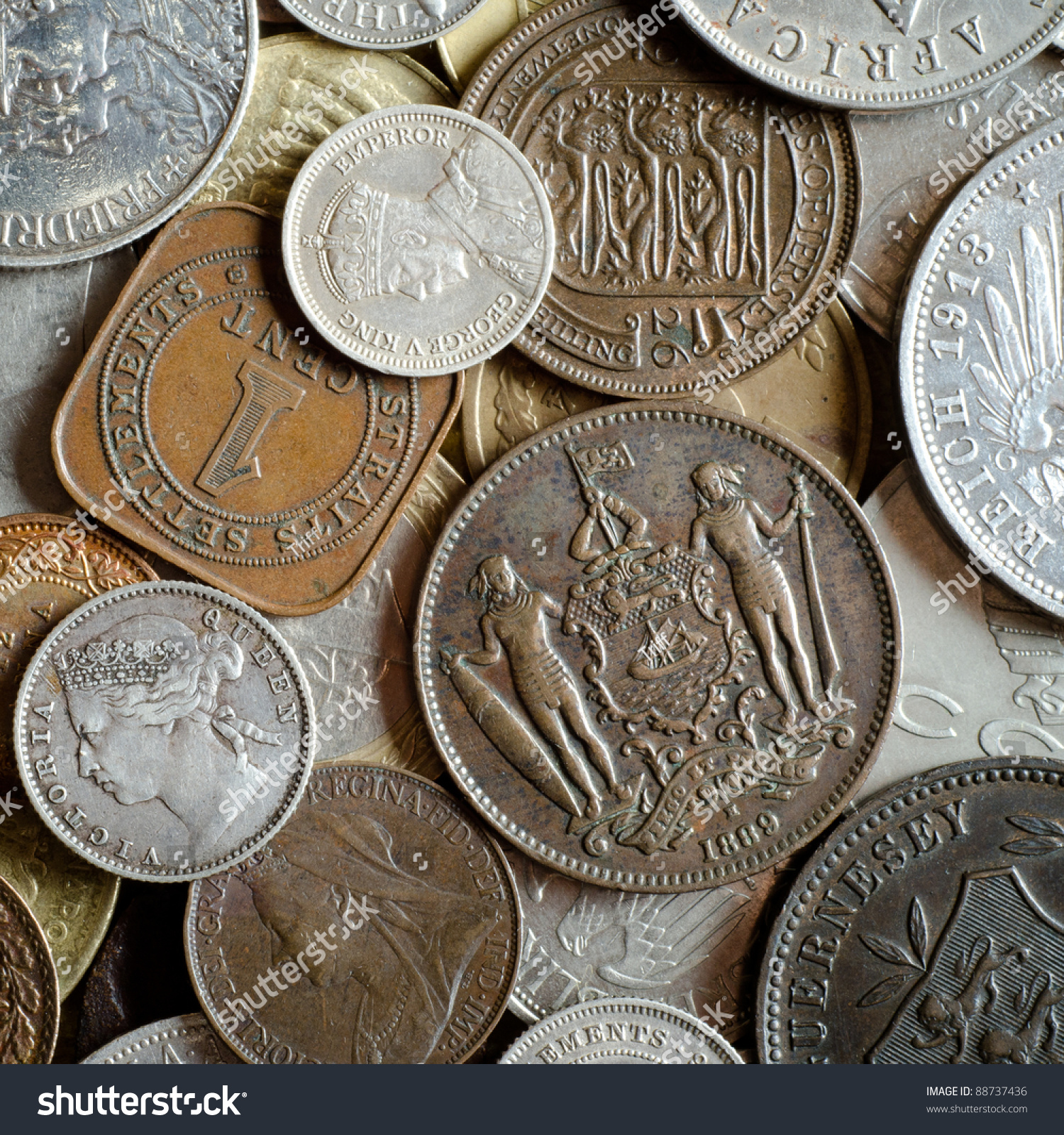 old coins stock image - photo #18