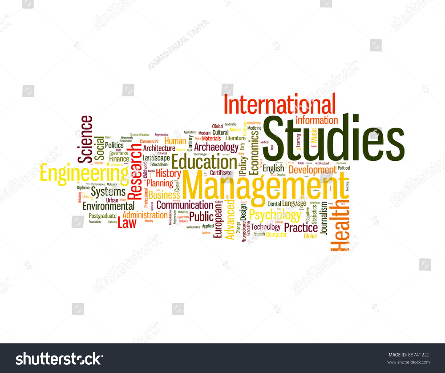 Graduate Post Graduate Infotext Graphics Arrangement Stock