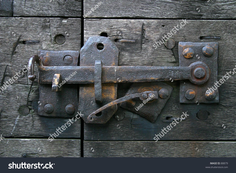 ID: 88879 - Antique Door Latch EZ Canvas
