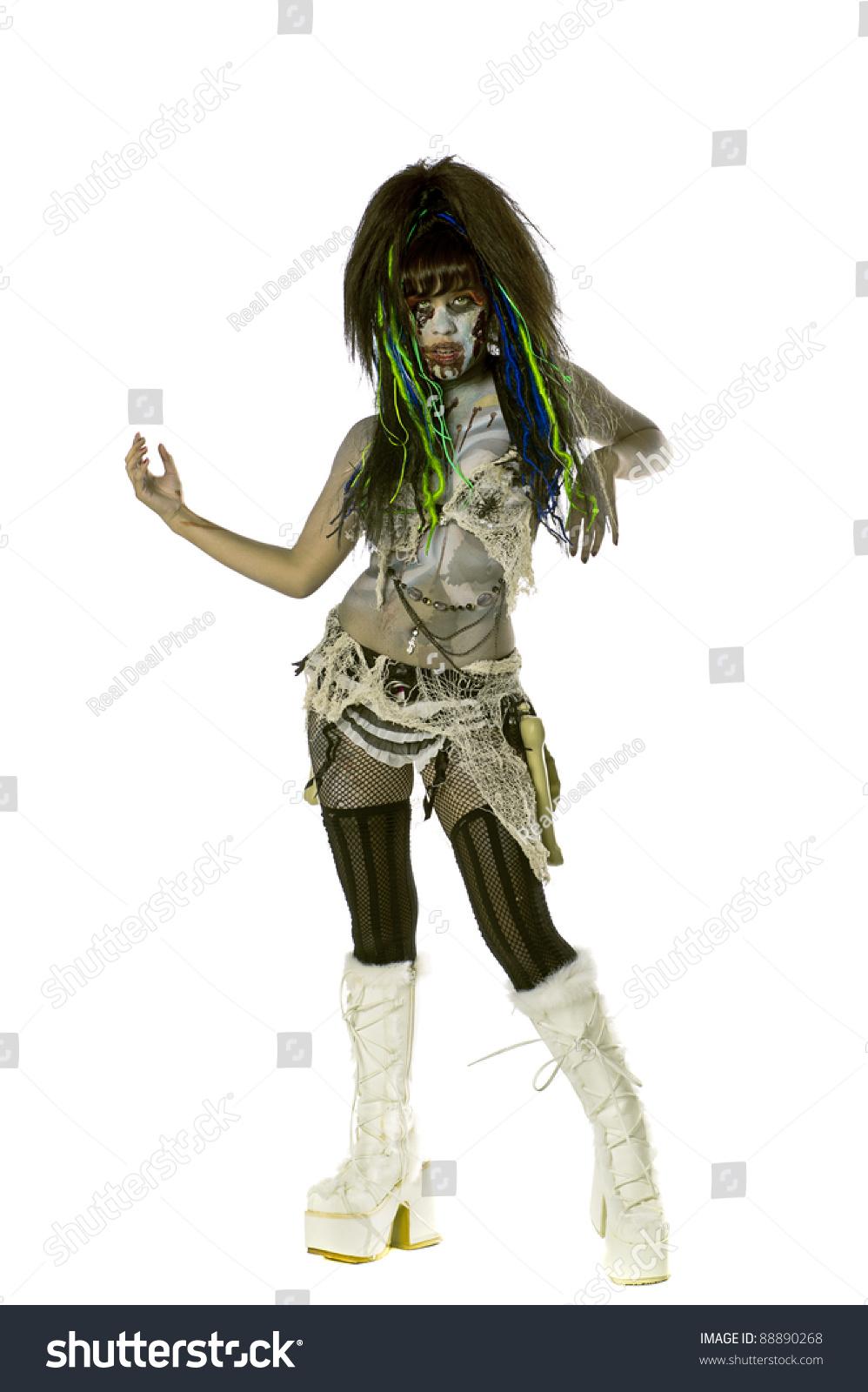 性感的女紧身去跳舞去-假期,性感-站酷海洛创透明裙人物白色僵尸少妇图片