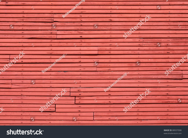 Wood Slat Wall old wood slat wall painted red stock photo 88937008 - shutterstock
