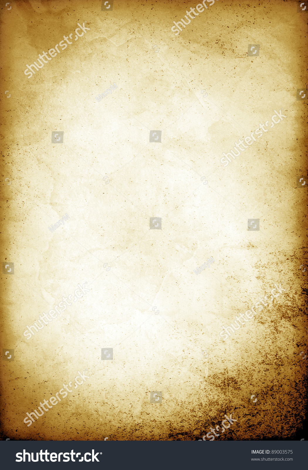old paper template stock illustration 89003575 - shutterstock, Powerpoint templates