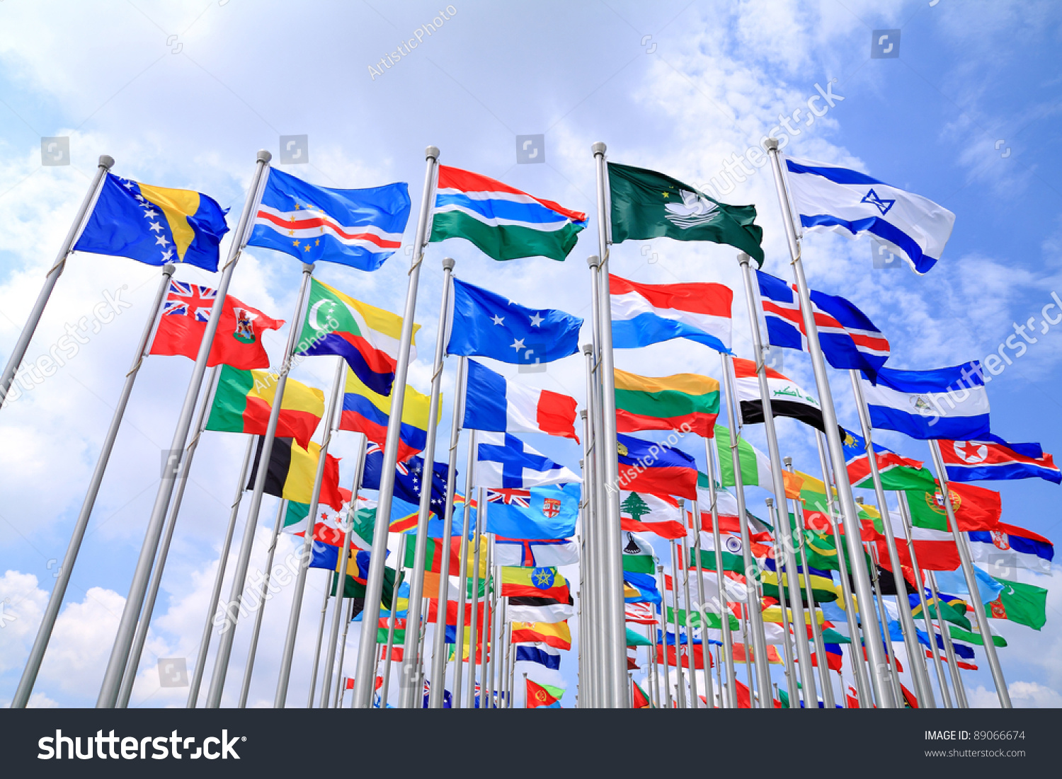 World Flags Stock Photo 89066674 - Shutterstock