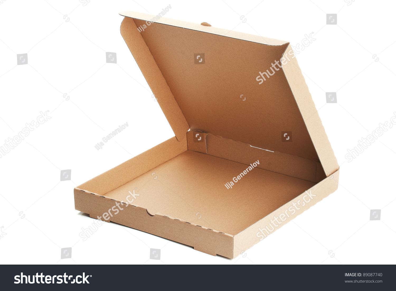 Empty Pizza Box Stock Photo 89087740 - Shutterstock