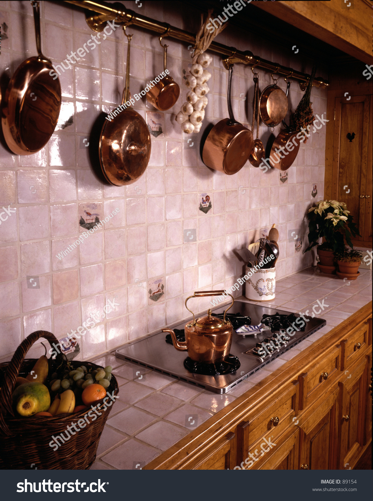 French Country Kitchen Stock Photo Edit Now 89154