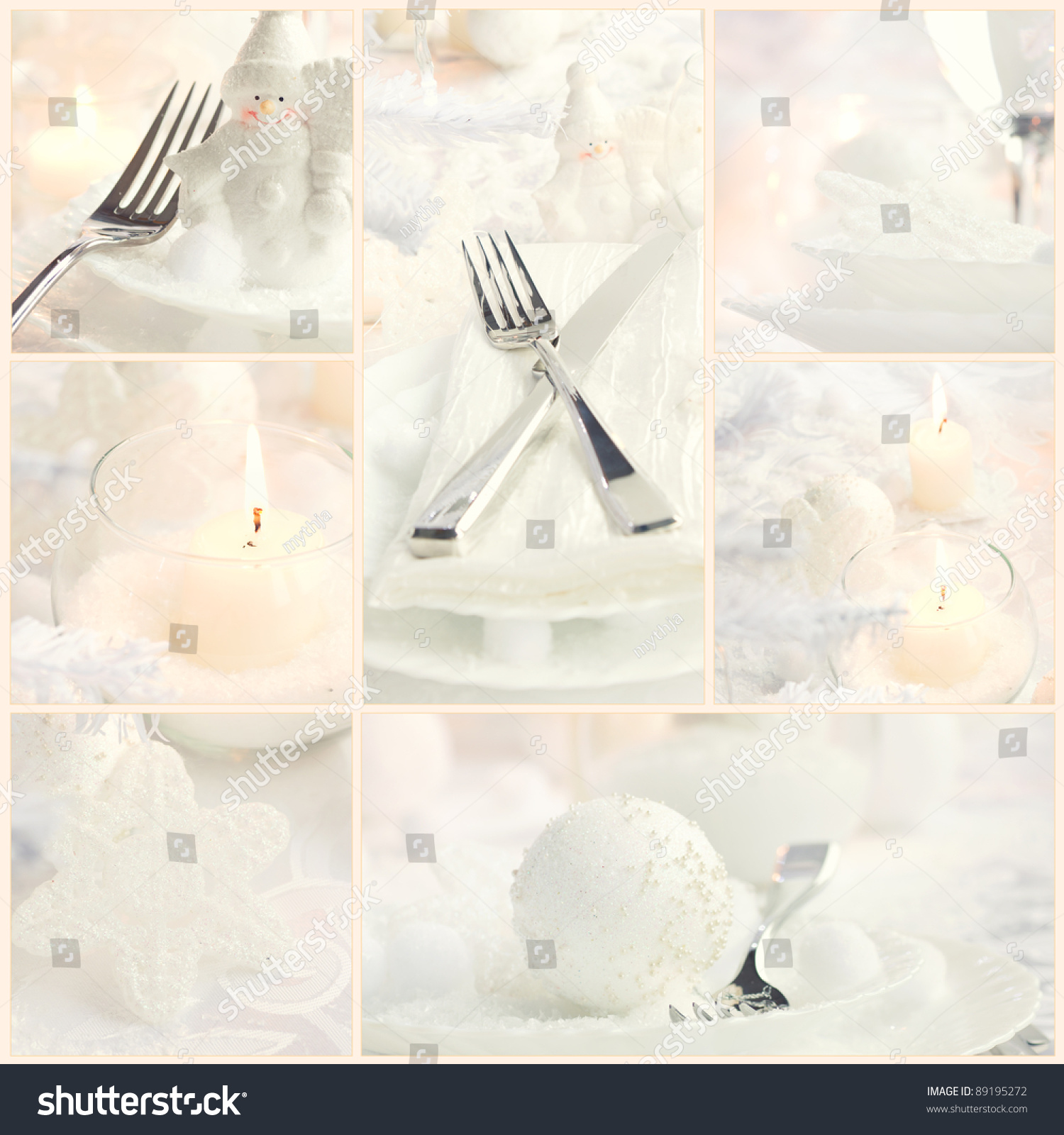 Fancy restaurant table setting - Save To A Lightbox
