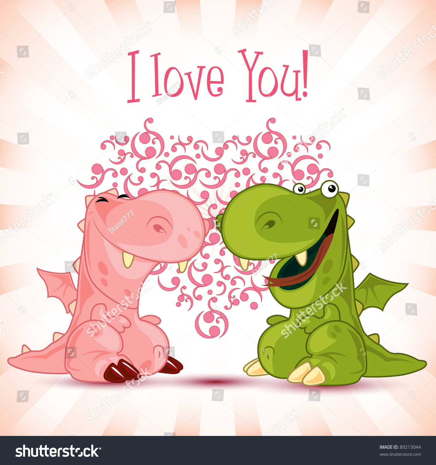 Valentine Dragon Couple