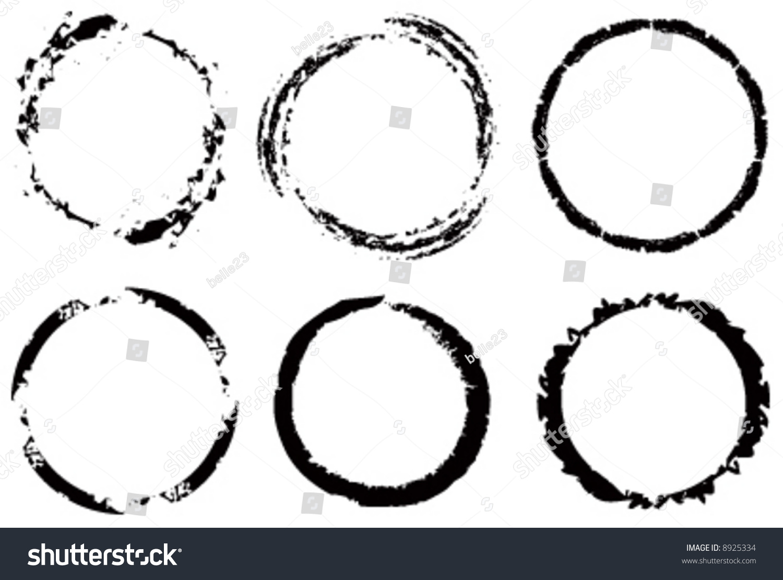 of vector grunge circle - photo #9