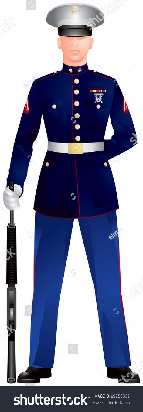 us marine corp blue dress uniform stock vector 89258569 us navy logo vector free official us navy logo vector