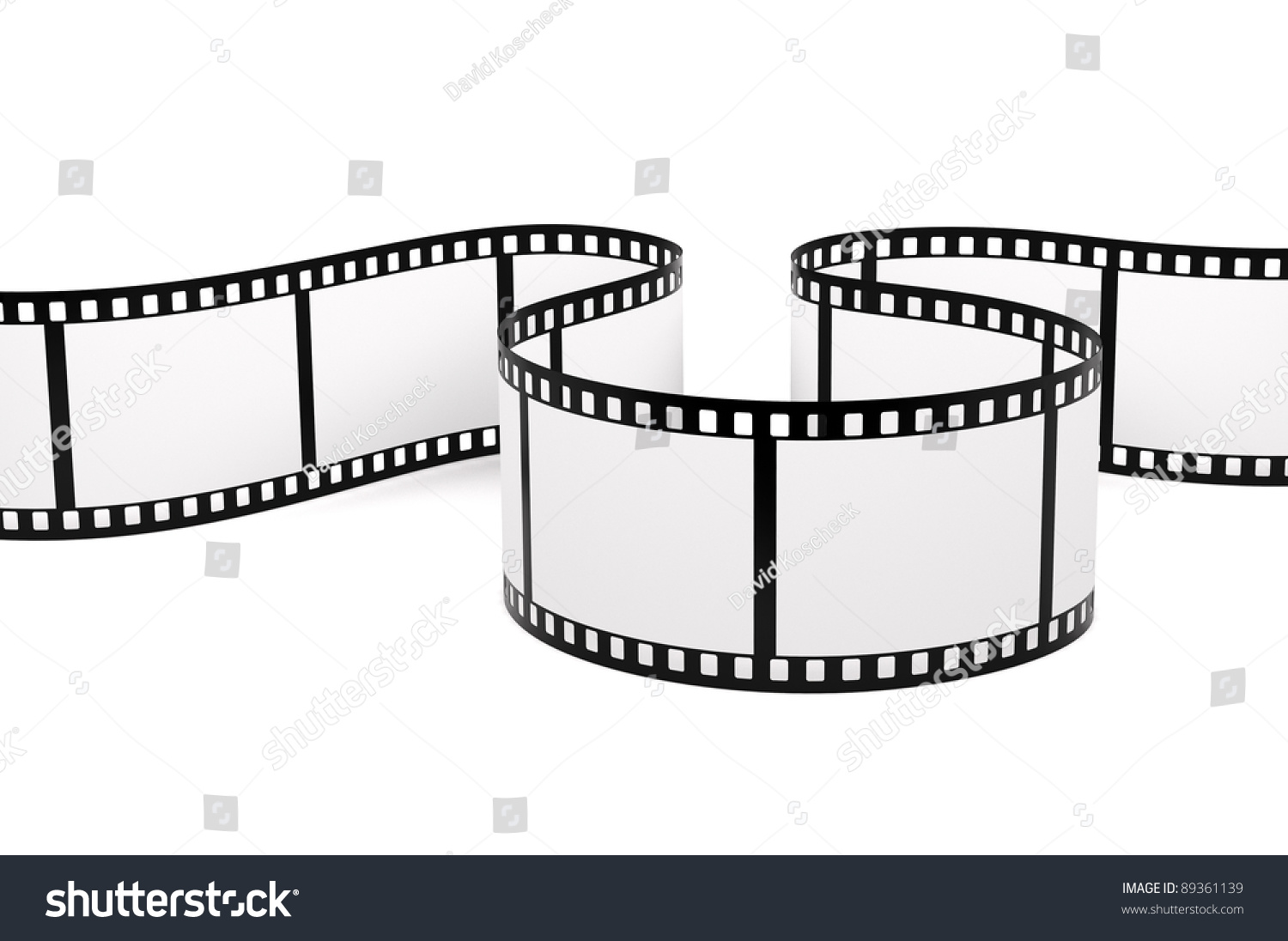 film strip stock illustration 89361139 shutterstock. Black Bedroom Furniture Sets. Home Design Ideas