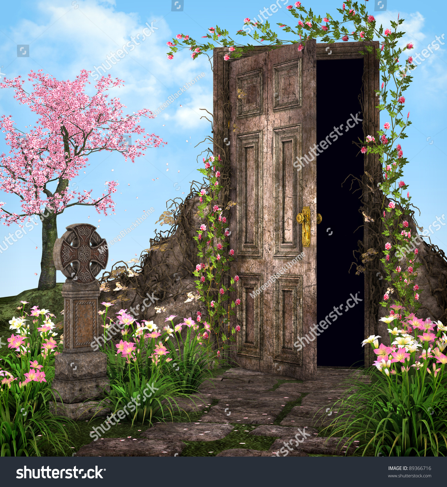 Enchanted Garden Stock Photo 89366716 : Shutterstock