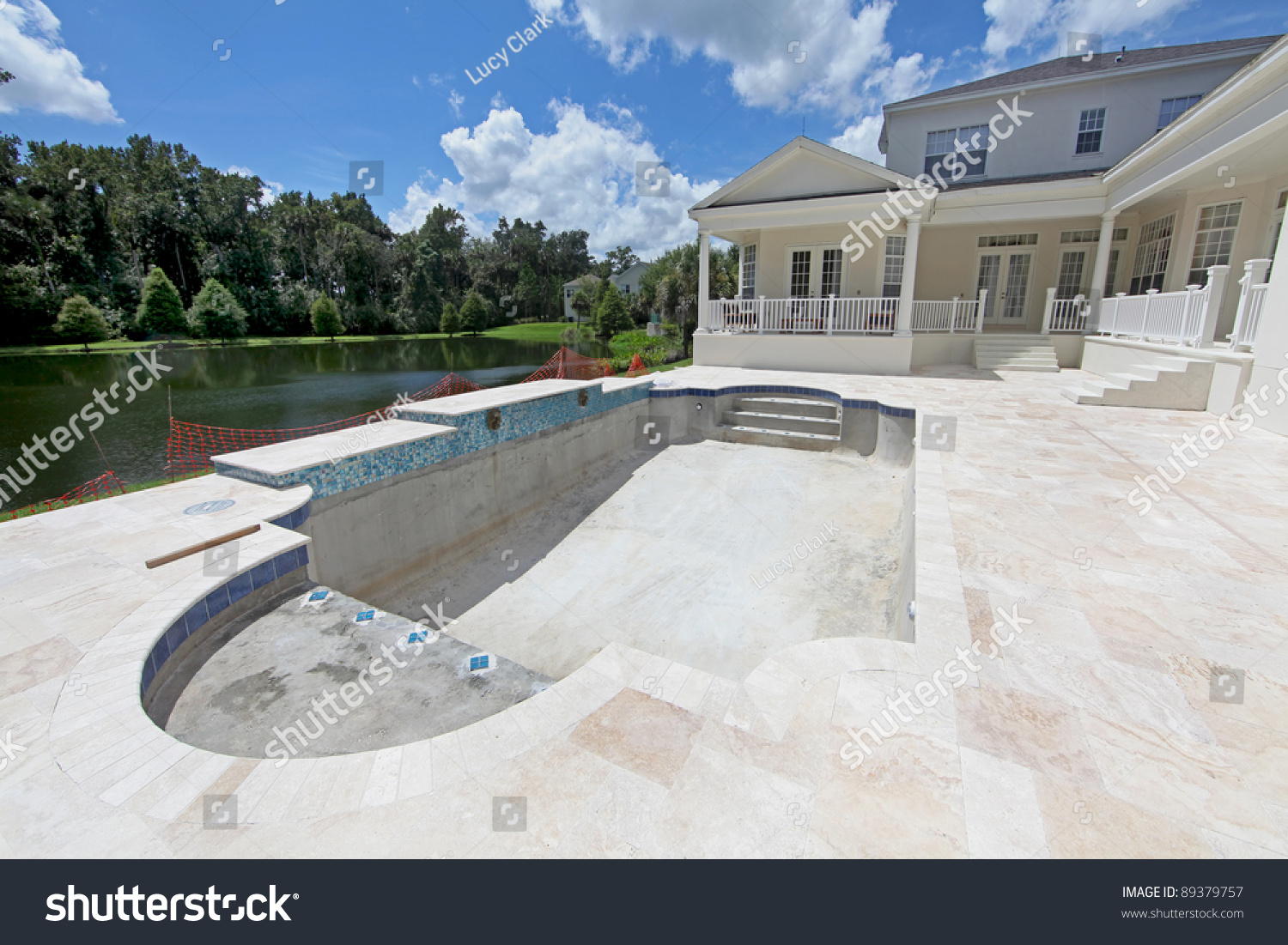 A Swimming Pool Under Construction In Florida Stock Photo 89379757 Shutterstock