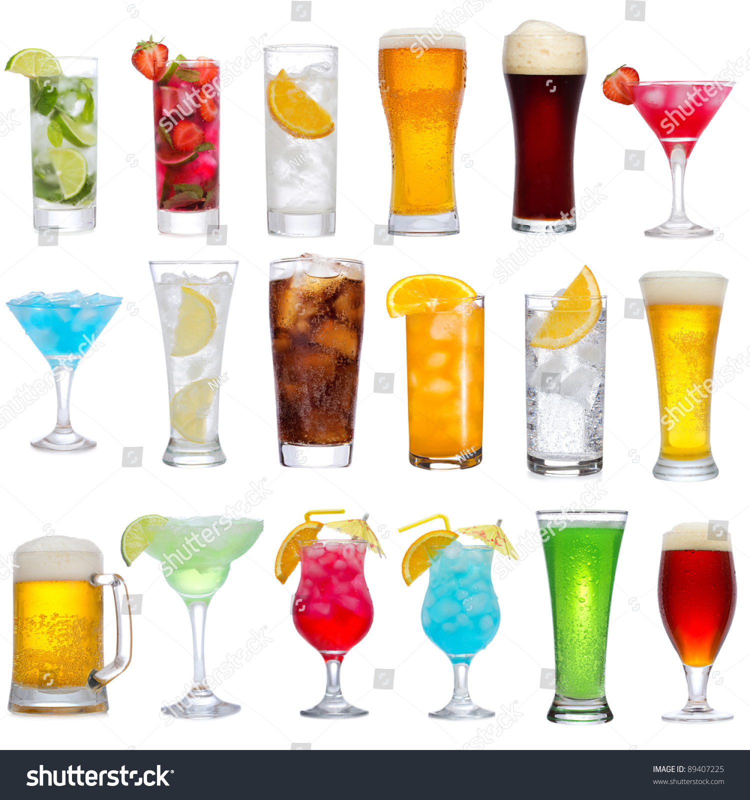 We All Drink Different Drinks At The Same Bar