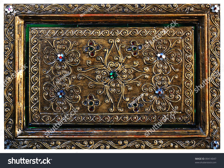 Thai pattern handmade wood carvings stock photo edit now
