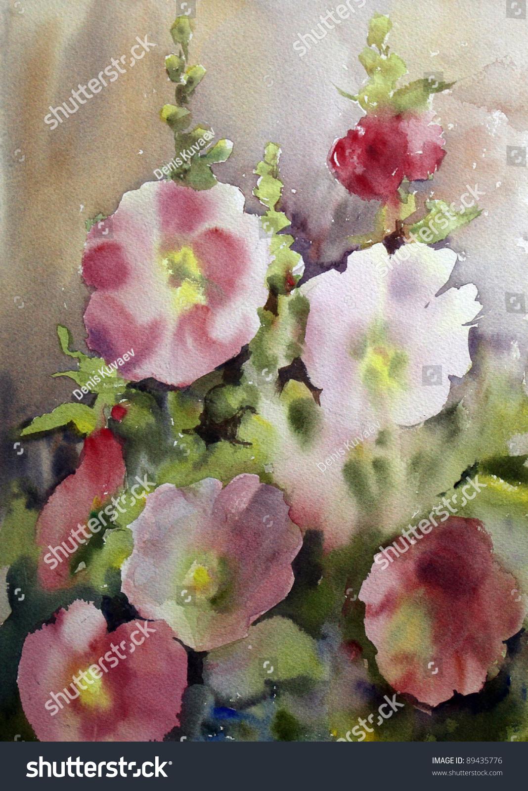 Flat Flower Illustration