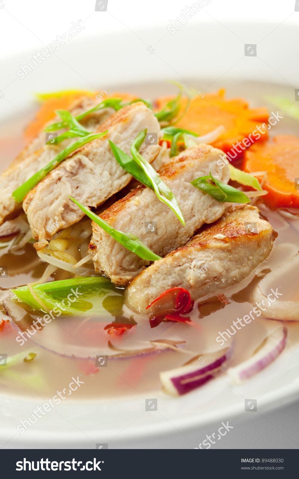 Vietnamese noodle soup with chicken and vegetables stock for What vegetables to put in chicken noodle soup