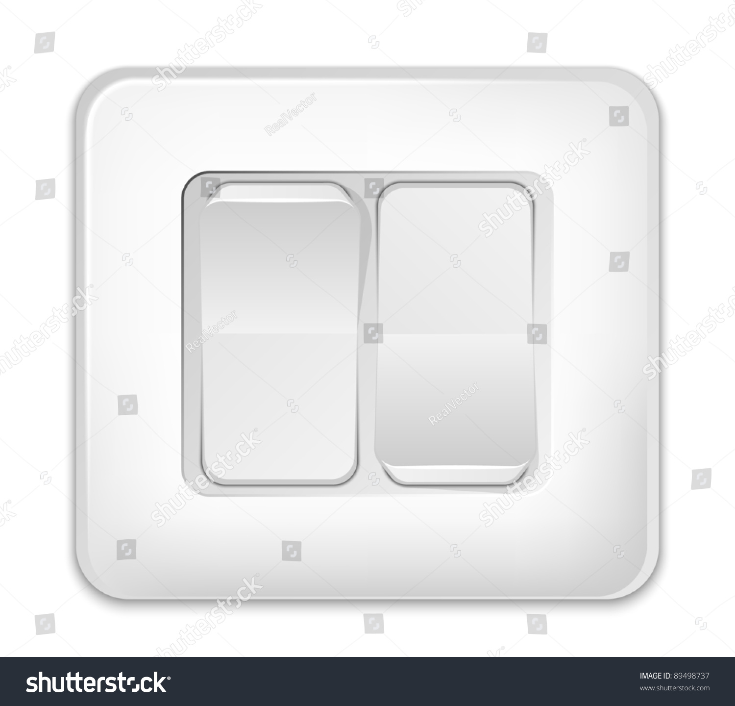 Vector Light Switch Icon