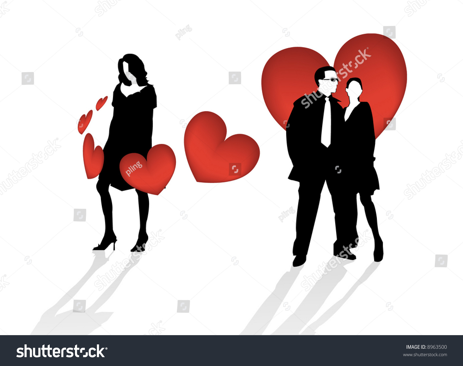 Triangle of love dating site