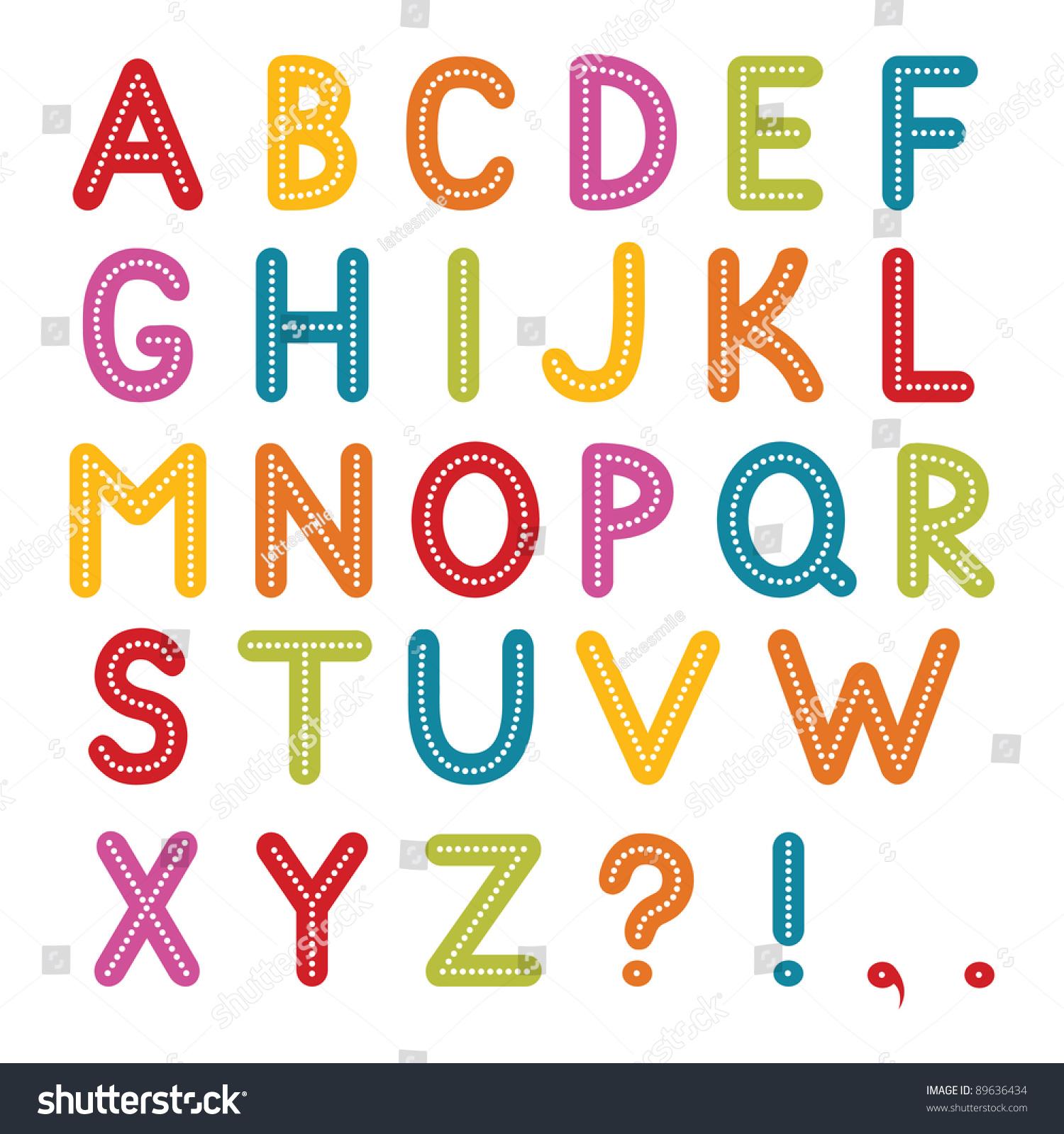 A Alphabet Images Vector Font Z A...