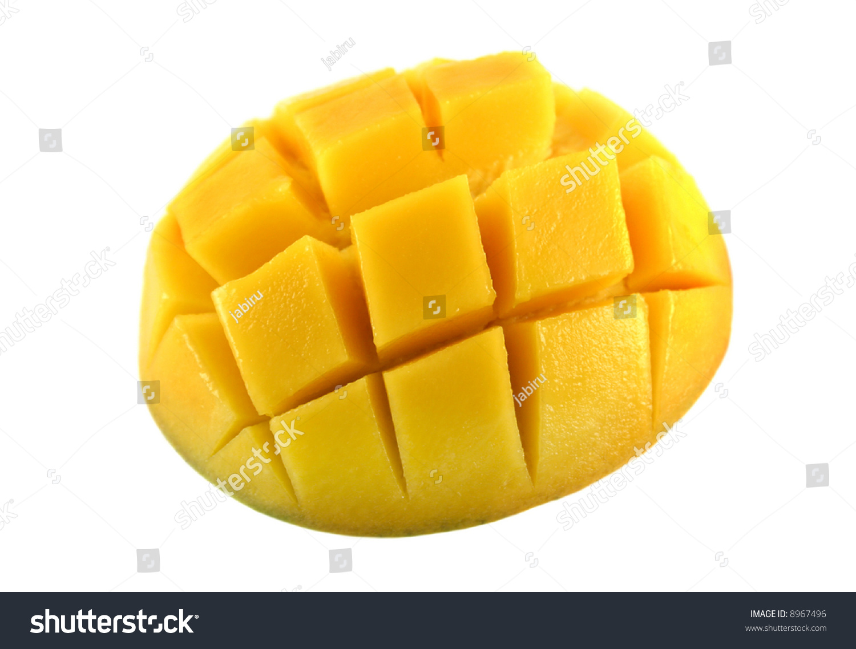 how to cut a fresh mango