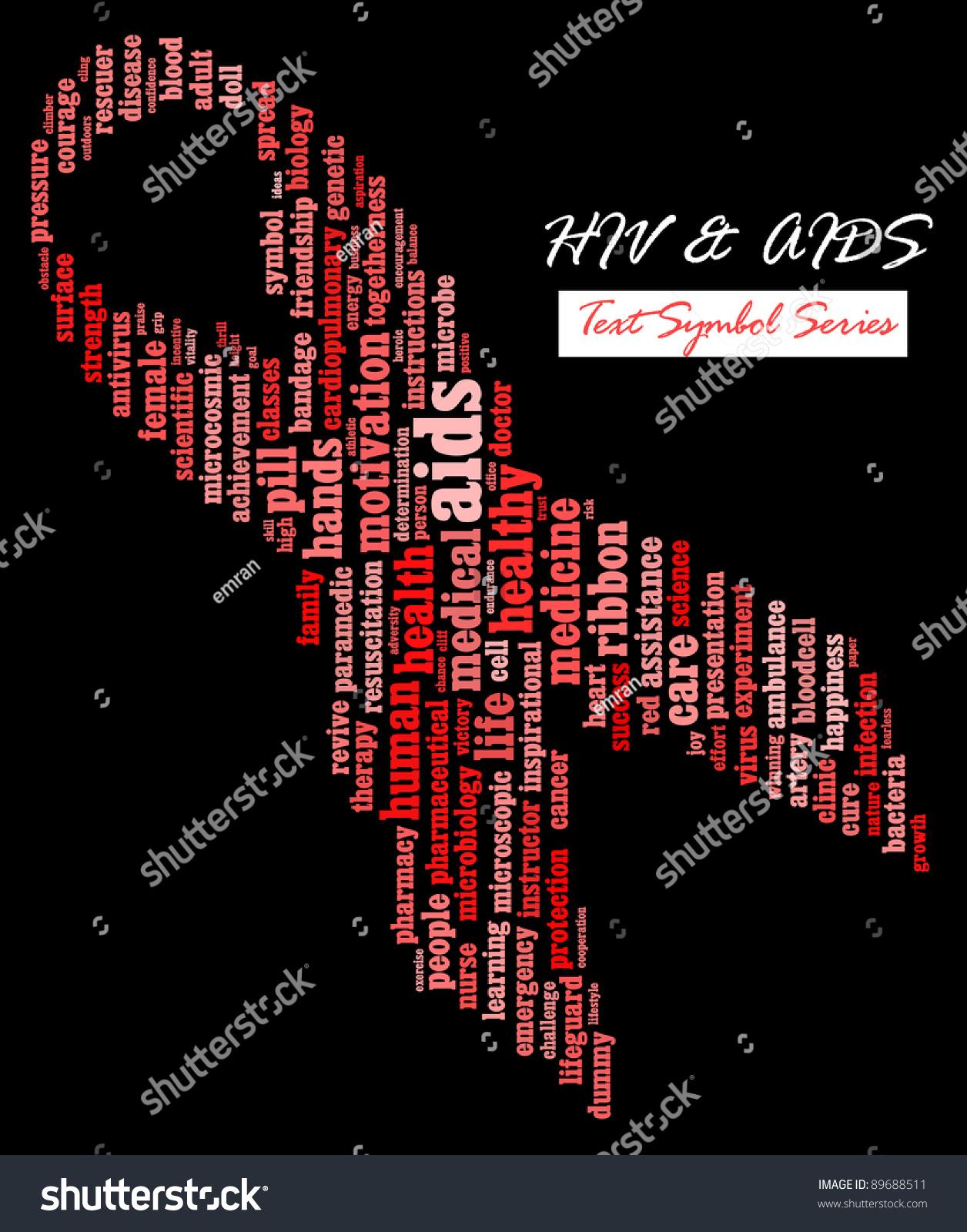 Hivaids awareness campaign infotextcloud wordword collage stock hivaids awareness campaign info textcloud wordword collage composed in biocorpaavc Images